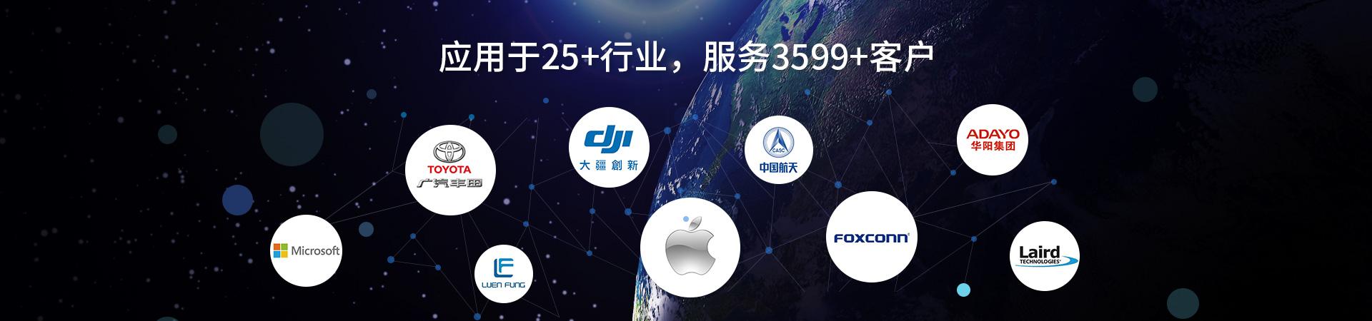 鑫承诺-应用于25+行业,服务3599+客户