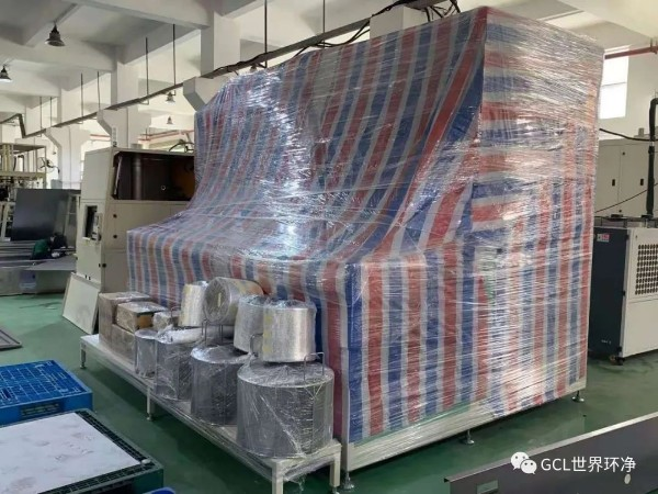 【鑫承诺 | 公司新闻】鑫承诺碳氢清洗机出口越南