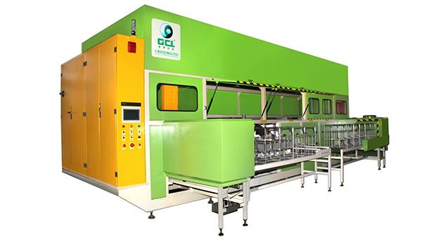 钛山重工多槽式碳氢真空清洗机应用案例