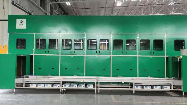 墨西哥数码模5槽智能真空清洗机工程案例