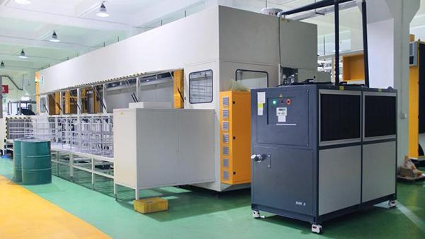 富士康集团碳氢真空清洗机工程案例