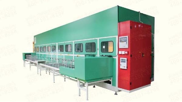 中车集团6槽中间体清洗机工程案例